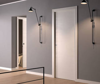 doortech controtelaio per porte scorrevoli adatto a intonaco. Black Bedroom Furniture Sets. Home Design Ideas